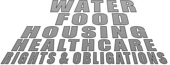 WATER FOOD HOUSING HEALTHCARE RIGHTS & OBLIGATIONS